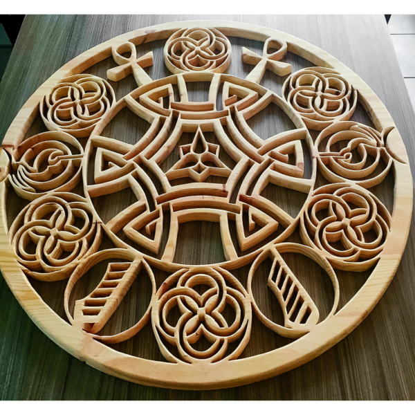 Celtic pattern for unique mandala design and wall room decoration